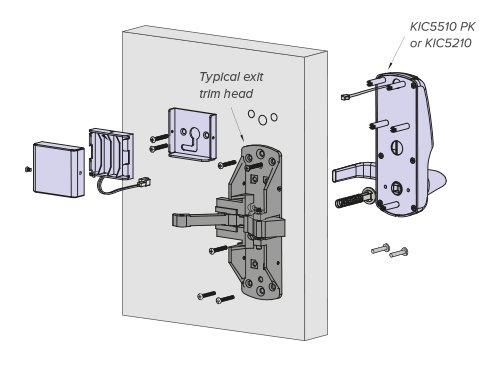 KEYINCODE PK Exploded Diagram